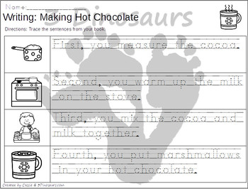 Sequencing: Making Hot Chocolate