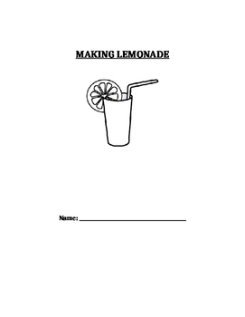 Sequencing Making Lemonade