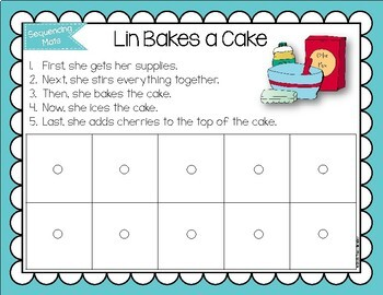 Sequencing Mats for Teaching Sequencing Skills