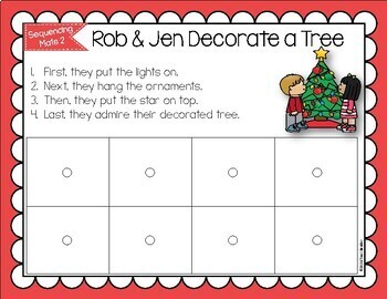 Sequencing Mats for Teaching Sequencing Skills {SET 2}