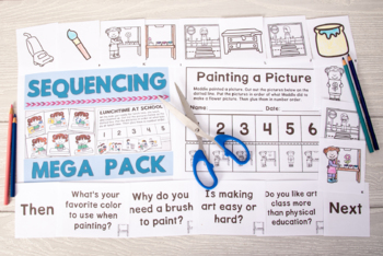 Sequences Mega Pack - 50 Pgs of NO PREP Functional Stories