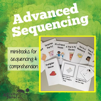 Sequencing Mini-books (advanced) with Comprehension Questions