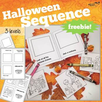 Sequencing Mini-books for Halloween Fun FREEBIE!