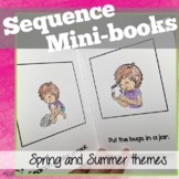 Sequencing Mini-books for Spring/Summer