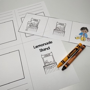 3 Step Sequencing Mini-books for Spring/Summer
