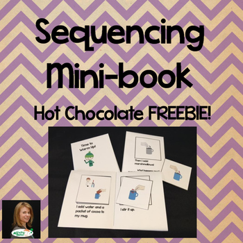 Sequencing Mini-books for Time to Warm Up!