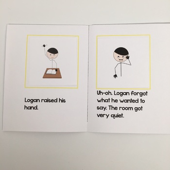 Sequencing Mini-books with Emotion Words