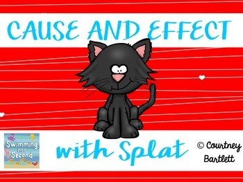 """Cause and Effect Minilesson with """"Love, Splat"""""""