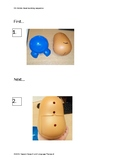Sequencing: Mr Potato Head Step by Step