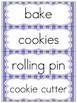 Sequencing Narrative Writing Baking Cookies