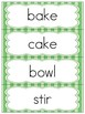 Sequencing Narrative Writing- Baking a Cake