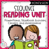Sequencing Nonfiction Reading Unit With Centers