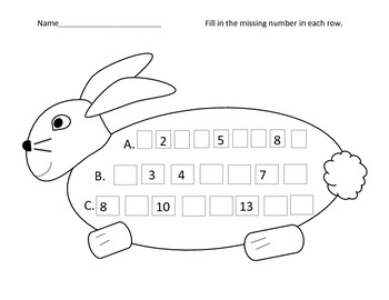 Sequencing Number Fun Activity Packet