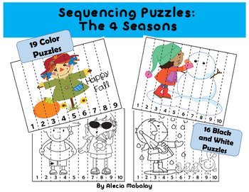 Sequencing Number Puzzles:  The Four Seasons