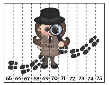 Sequencing Number Puzzles: Detectives