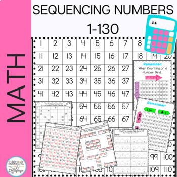 Number Sense: Math:Sequencing Numbers 1-120 Printables Ali