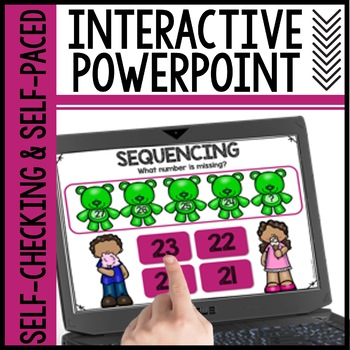 Sequencing Numbers Interactive Powerpoint