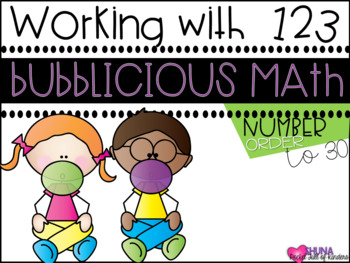 Sequencing Numbers {A Working With Numbers Center}