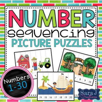 Sequencing Numbers Puzzles