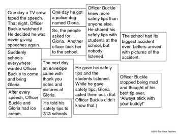 "Sequencing ""Officer Buckle and Gloria"""