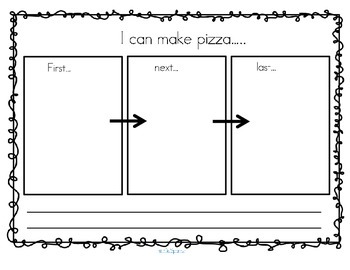 Pizza Sequencing Activities and Printables