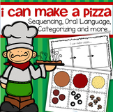 Pizza Sequencing and Categorizing  Activities and Printables