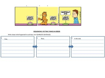Sequencing/Order of Events