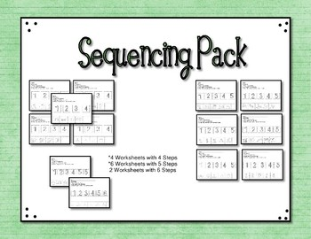 Sequencing Pack 12 Worksheets