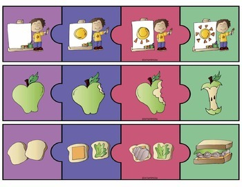 Sequencing Pack: Cards + No Prep Homework Sheets & Puzzles Print and Go