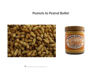 Sequencing - Peanuts to Peanut Butter