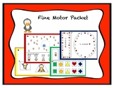 Sequencing Penguin Fine/Visual Motor Activity Packet