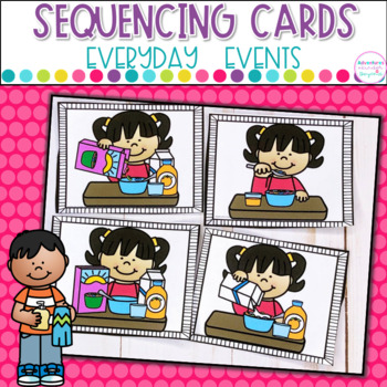 Sequencing Picture Cards Everyday Events