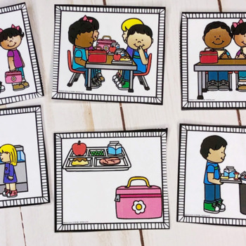 Sequencing Picture Cards- Everyday Events