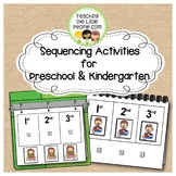 Sequencing Picture Interactive Book for Preschool and Kind