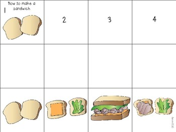Sequencing Pictures: Adapted Book and/ or Work Box Task