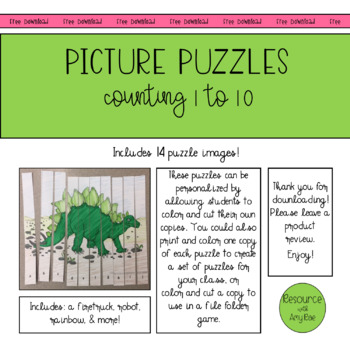Sequencing Pictures File Folder Game