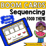 Sequencing Pictures Food Activity Boom Cards Digital Game