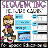 Sequencing Pictures For Special Education