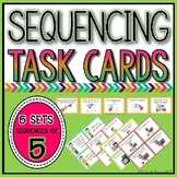 Sequencing Pictures Task Cards: 5 Steps