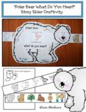"Sequencing ""Polar Bear What Do You Hear?"" Story Slider Craftivity"