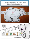 "Sequencing ""Polar Bear What Do You Hear?"" Story Slider Craftivity"