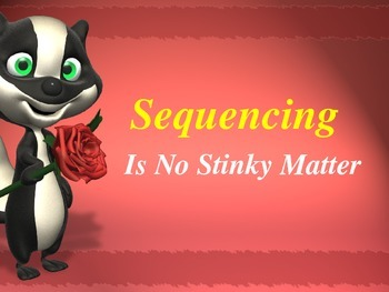 Sequencing Powerpoint : Skunk Theme