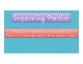 Sequencing Practice Activity