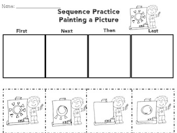 Sequencing Practice Story Sequence Activities