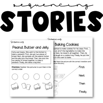 Sequencing Practice and BONUS Questioning activity