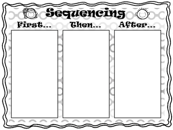 Sequencing Printable (b&w)