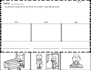 Sequencing Printables & Puzzles