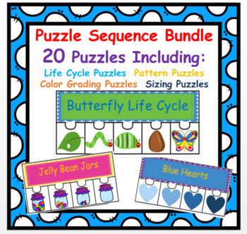 Sequencing Puzzle Bundle