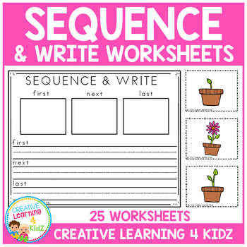 Sequence & Write Worksheets