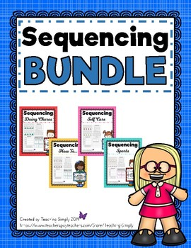 Sequencing Puzzles and Activities BUNDLE